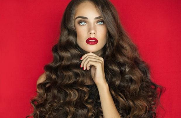 capelli, volume, donna