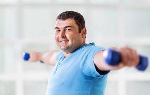 allenamento uomo, perdita di peso