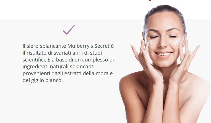 Mulberry's Secret è in grado di ripristinare il colore dell'incarnato - 7