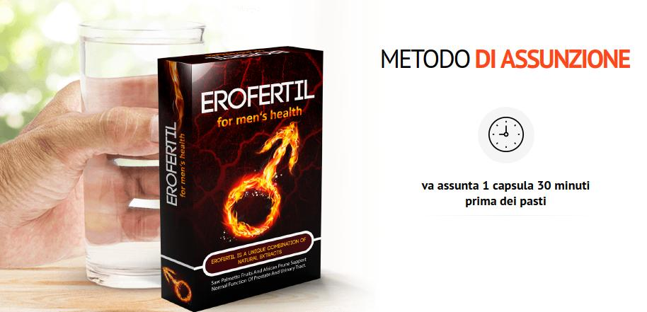 Erofertil capsule metodo di assunzione