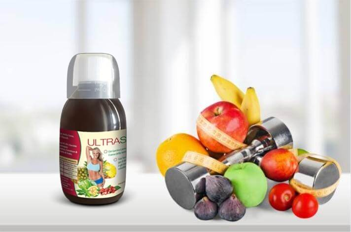 Ultraslim, frutta, palestra