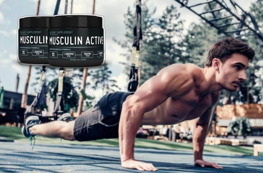 musculin active, uomo