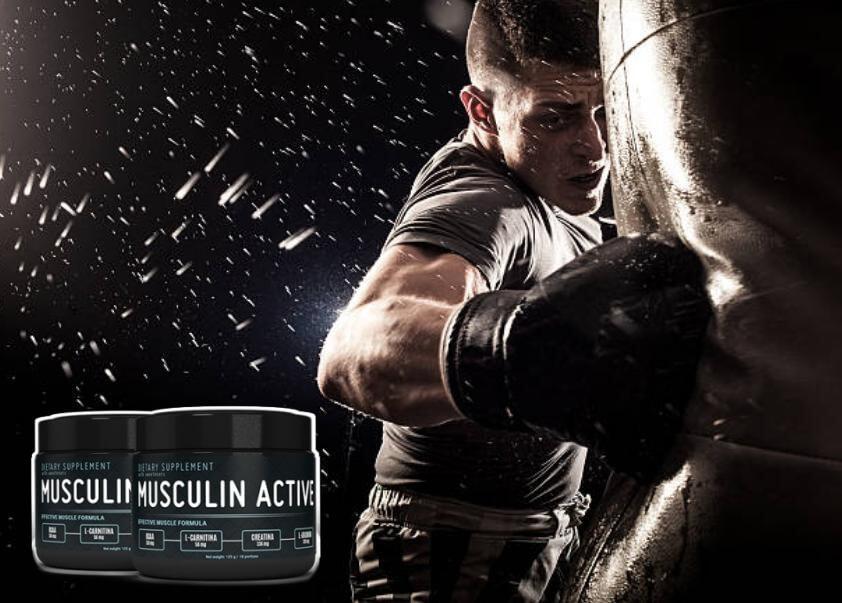 musculin active, boxe uomo