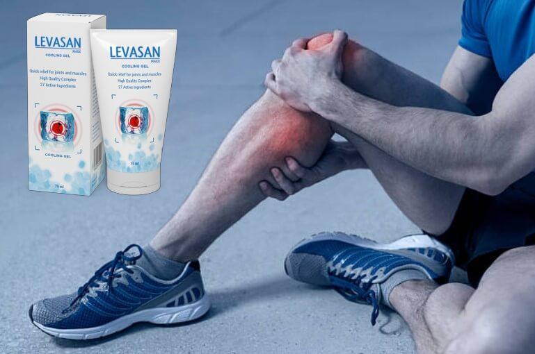 Levasan Maxx, uomo con dolore al ginocchio