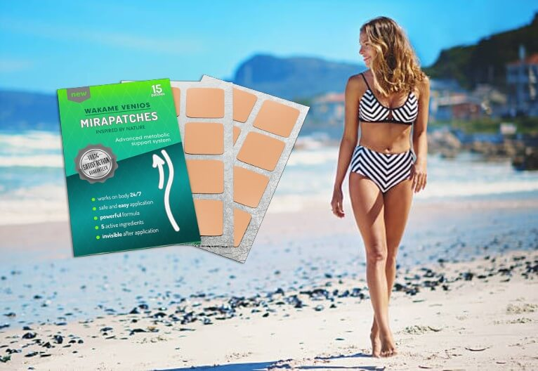 mirapatches, donna in spiaggia