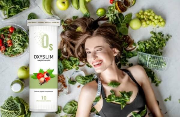 oxyslim, donna, verdura