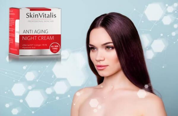 SkinVitalis, donna con la pelle liscia