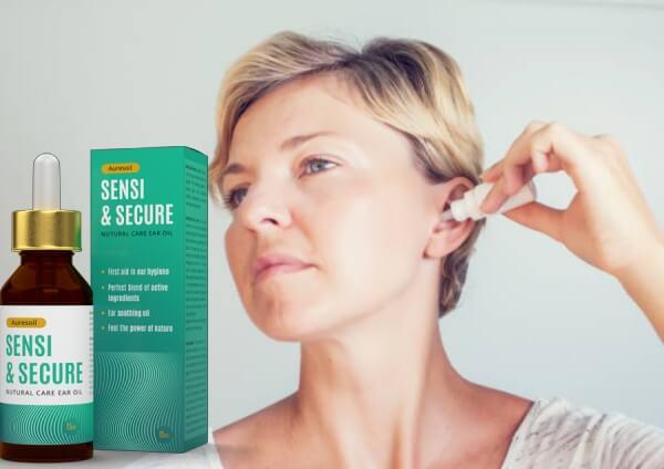 donna, orecchio, auresoil sensi & secure