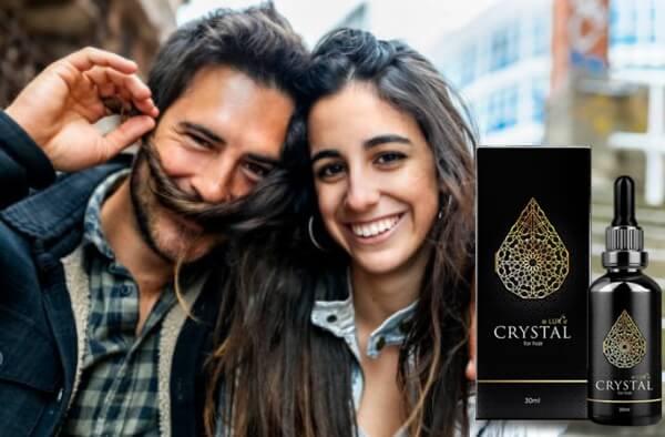 coppia felice con i capelli, crystal eluxir