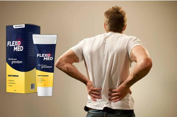 Flexomed, uomo con dolore alla schiena