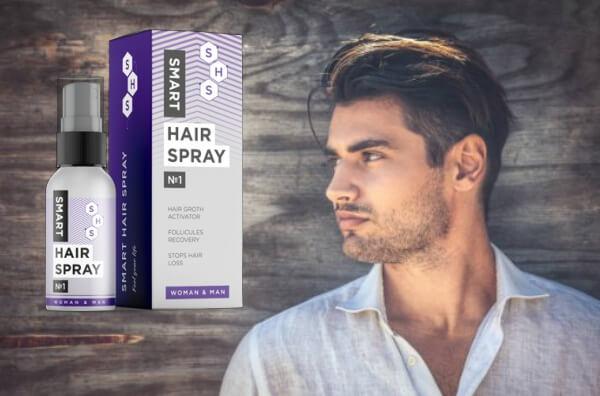 smart hairpsray, uomo