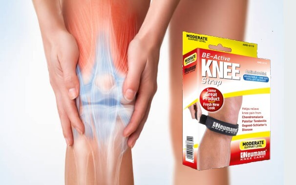 be-active knee strap, dolore al ginocchio