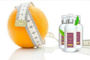 goya thermo-gel anticellulite, arancione, centimetro