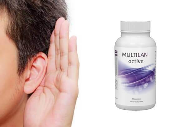 orecchio, udito, multilan active