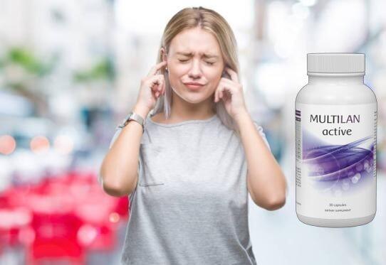 multilan active, mal d'orecchie