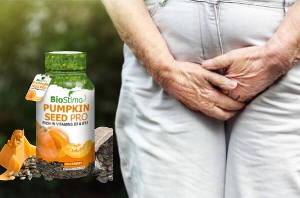 pumpkin seed pro, urinarie
