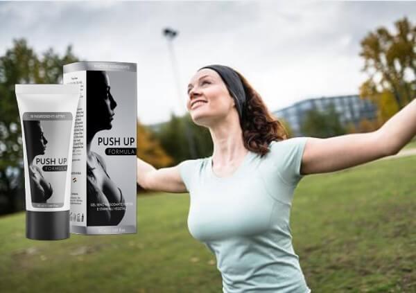 pushup formula, donna, seno