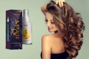 capelli, donna, lozione mega hair miracle oil