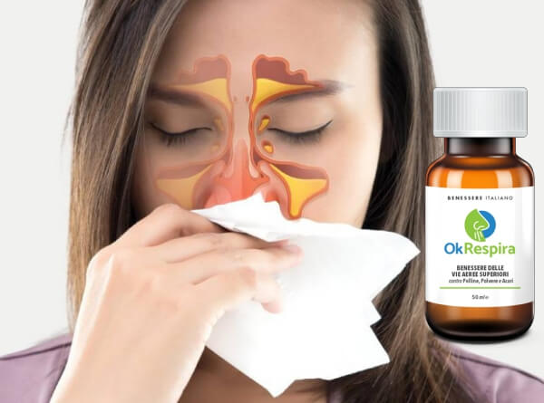 gocce, sinusite, naso