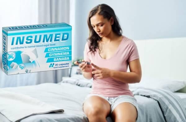 insumed capsule, donna, livelli di zucchero nel sangue