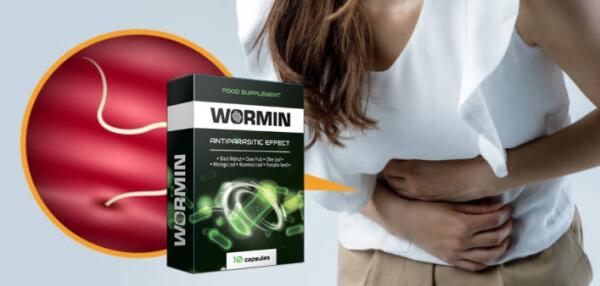 wormin capsule, disintossicazione, parassiti