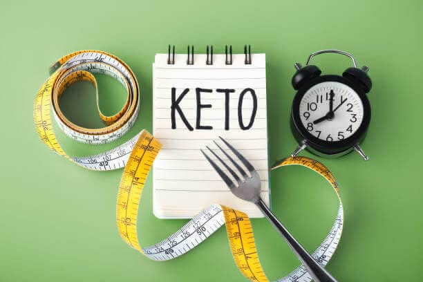 note, dieta keto, metro, forchetta