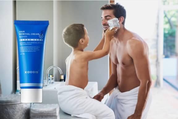 Koogis Razorless Shaving, uomo