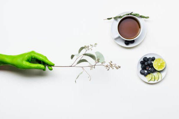 disintossicazione, tè, frutta