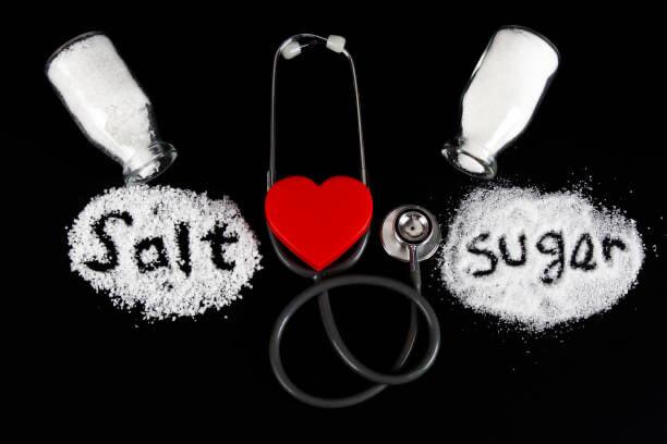 Sale vs zucchero