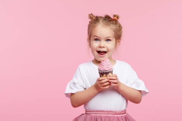 signorina, grazioso 'gelato, felicità