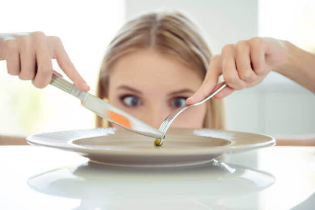 donna, fao, verde, piatto, dieta