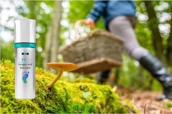 spray toosy, funghi gambe piedi