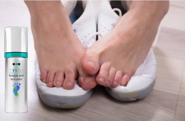 spray funghi gambe piedi