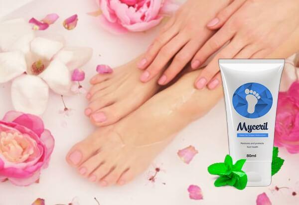 myceril crema, piedi