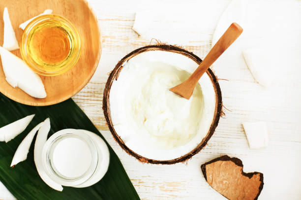 Pasta sorriso scintillante con olio di cocco