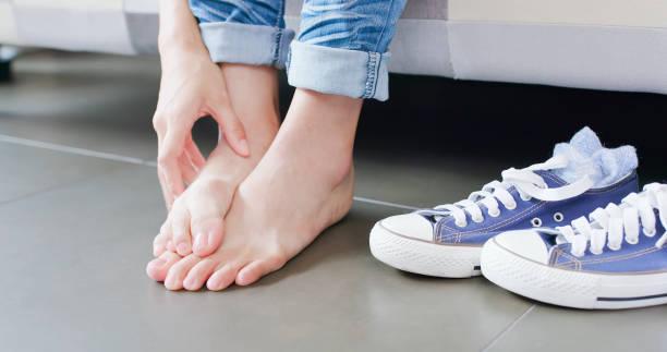funghi, gambe