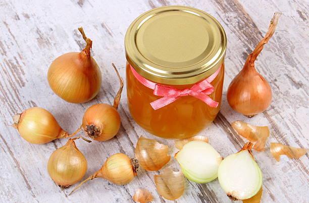 cipolla, miele e curcuma
