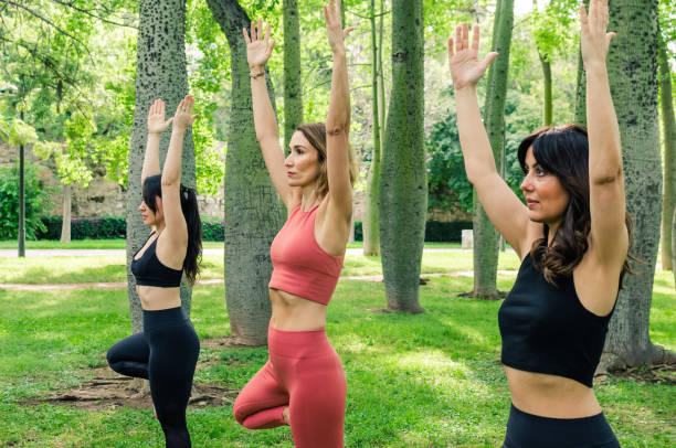"Yoga Posa ""Albero"""