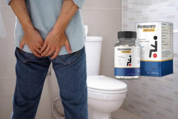 Capsule per emorroidi Hemoren Pro Comfort