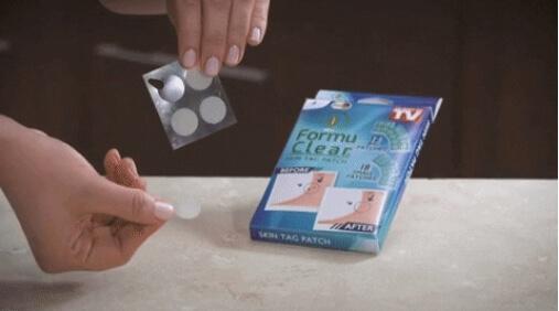 verruche fibromi Formu Clear Skin Tag Patch