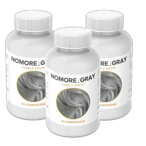 NoMore Gray per capelli capsule Recensione Italia