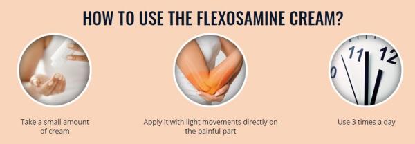 Come si usa FlexoSamine