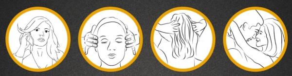 come si usa l'olio per capelli