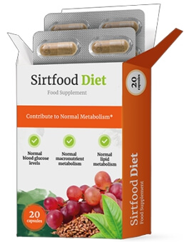 SirtFood Diet capsule per perdere di peso Recensioni Italia